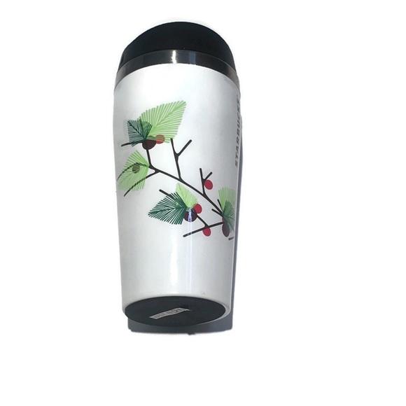 NWOT Starbucks Christmas themed travel mug